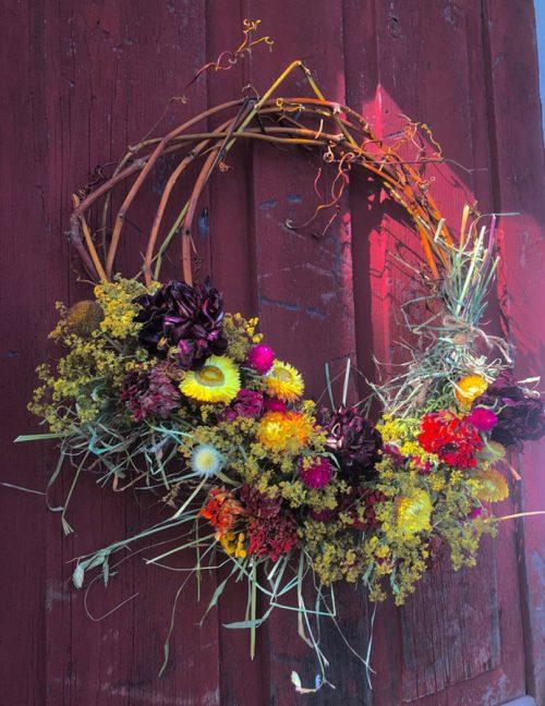 Harvest Wreath Workshop